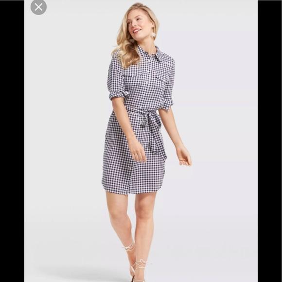 2cd6da1128b Draper James Dresses   Skirts - Draper James Belted Gingham shirtdress